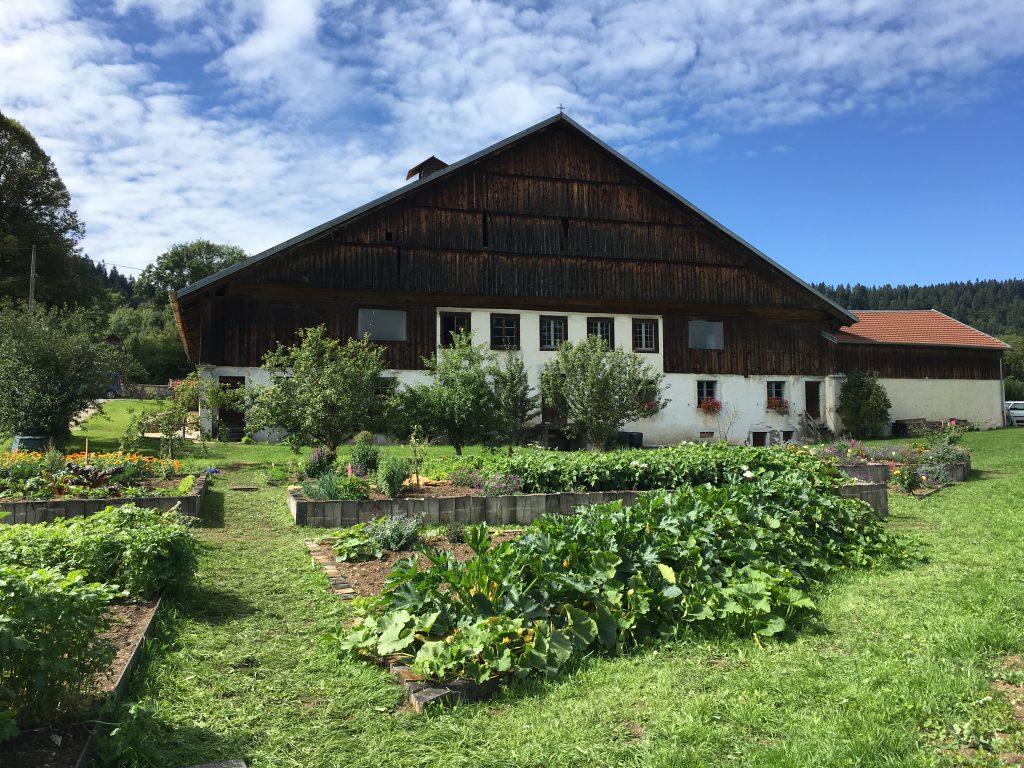 Les jardins de la ferme musée